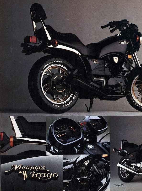 Yamahas d cada 80 for Yamaha midnight virago 750