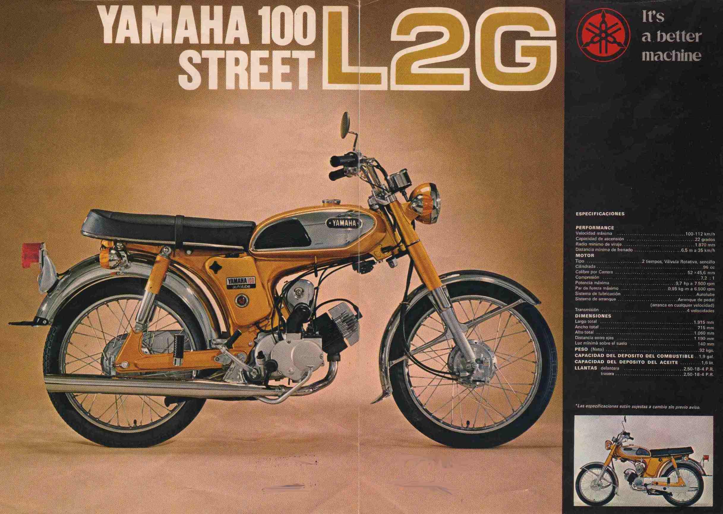 100 yamaha: